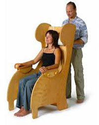 Boventoon klankstoel