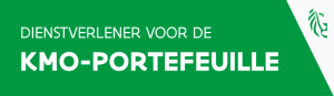 Nieuw logo kmo-portefeuille sedert april 2016