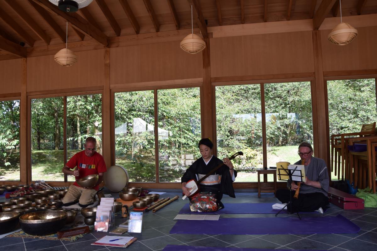 Boventoon Japanse tuin Hasselt