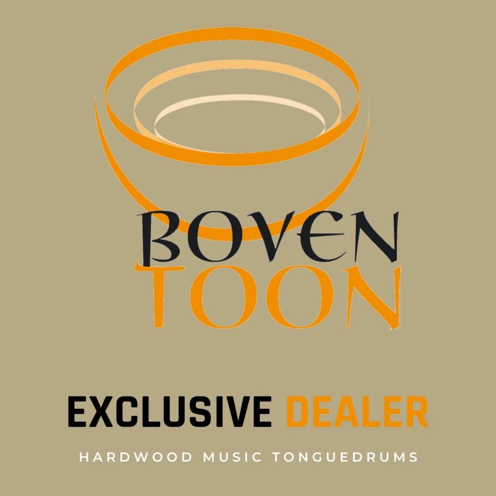 Boventoon exclusive dealer Belgium Hardwood Music tonguedrum