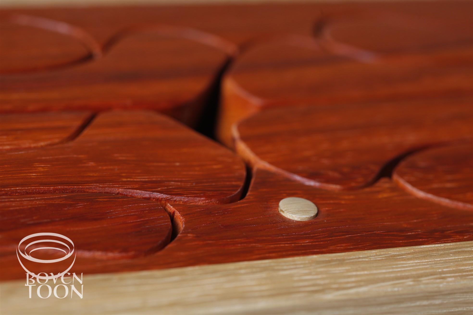 Hardwood Music Geo Bones wood Boventoon