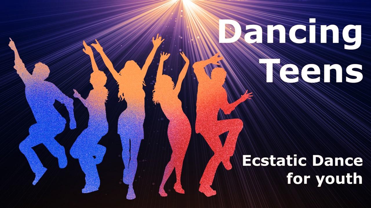 Ecstatic Dancing Teens